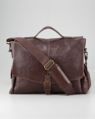 Waite Flap Messenger Bag
