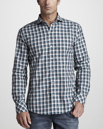 Darren Check Sport Shirt