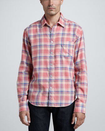 Yokohama Plaid Sport Shirt