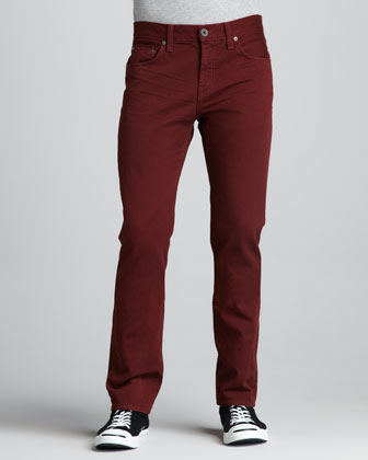 Kane Crafted Phoenix Red Jeans