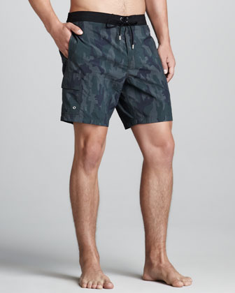 Camo Thunder Swim Trunks