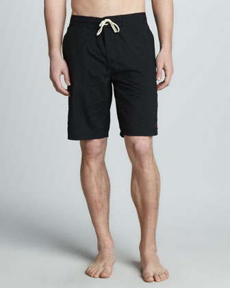 Long Swim Trunks