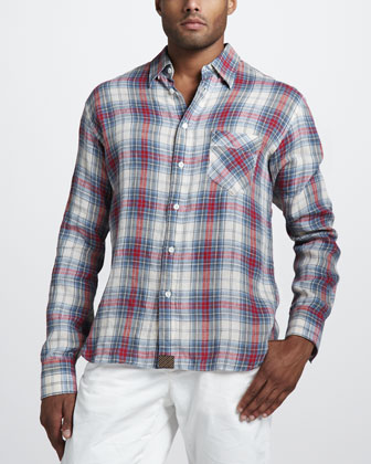 Walland Plaid Sport Shirt