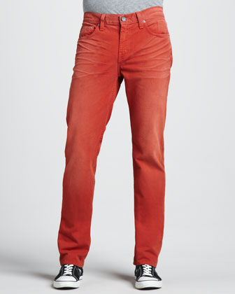 Kane Slim Rescue Red Jeans