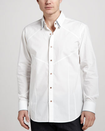 Dries Mosaic Sport Shirt