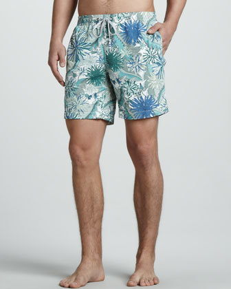 Charles Liberty Art Becci Printed Swim Trunks
