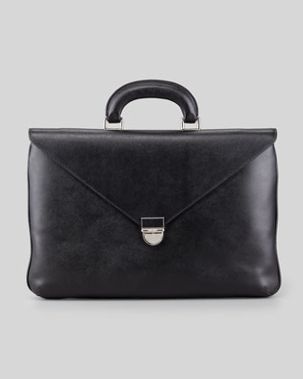 Saffiano Attache Case