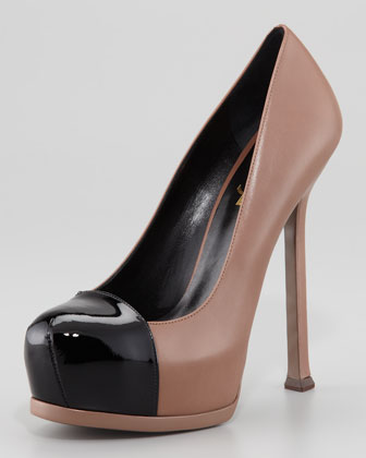 Tribute Two Two-Tone Platform Sandal