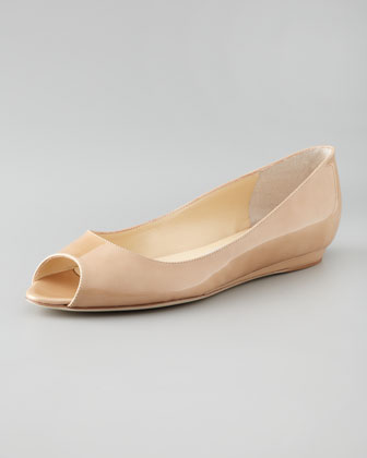 Beck Open-Toe Wedge