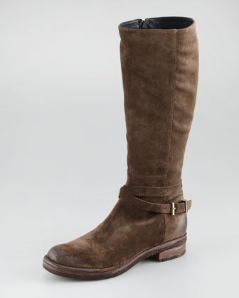 Suede Knee Boot
