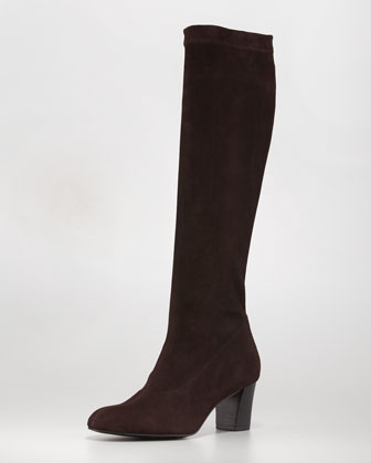 Passac Stretch Suede Boot, Cafi