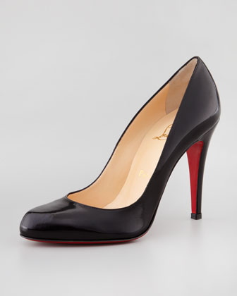 Decollete Jazz Red Sole Pump