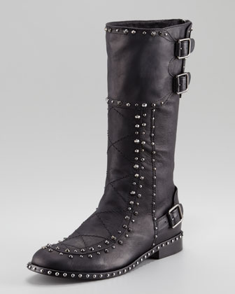 Baltazar Stud Buckle Boot