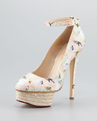 Dolores Brazilian Printed Pump