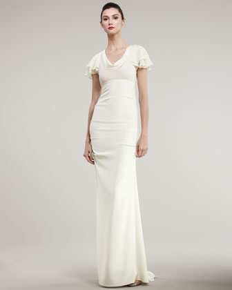 Seeking a wedding dress with