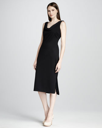Bristol Cowl-Neck Dress