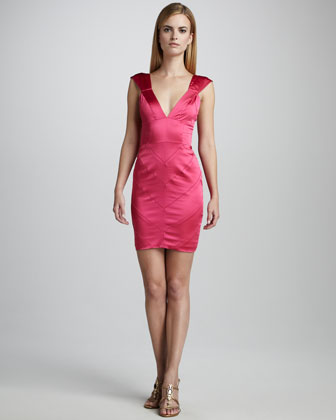 Charmeuse Cocktail Dress