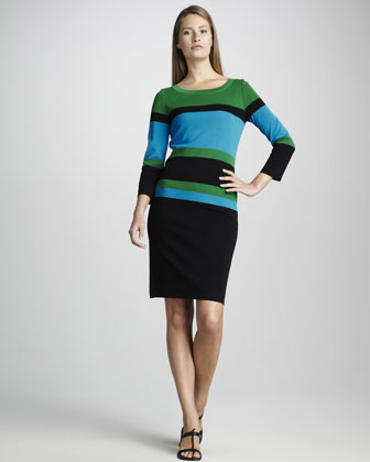 Colorblock Dress, Women's