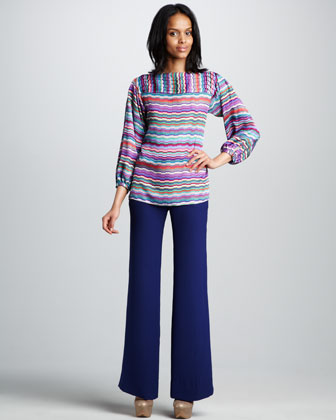 Shanley Wide-Leg Pants