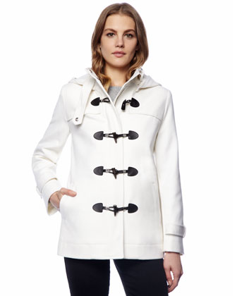 Hooded Toggle Coat