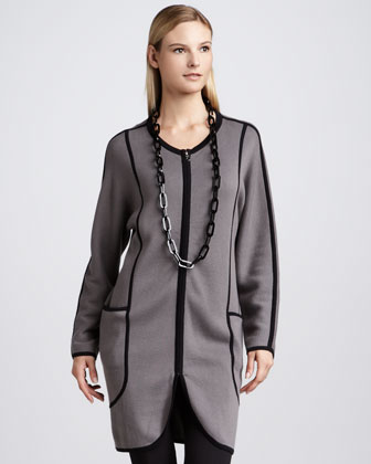 Milano Stitch Long Jacket