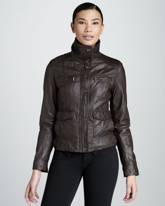 Four-Pocket Motorcycle Jacket