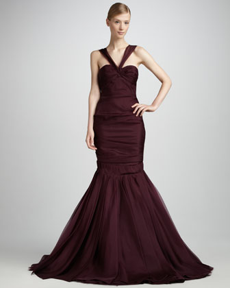 Asymmetric Gown