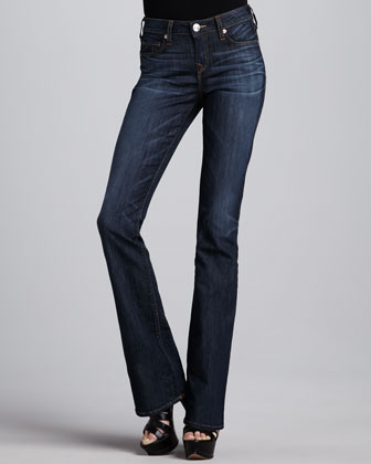 Toni Luckdrawn Micro Boot-Cut Jeans