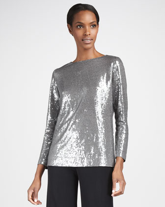 Sequined Top, Women's