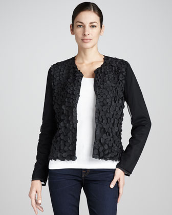 Sleek-Style Petal Jacket