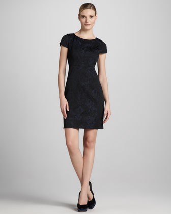 Estelle Jacquard Dress