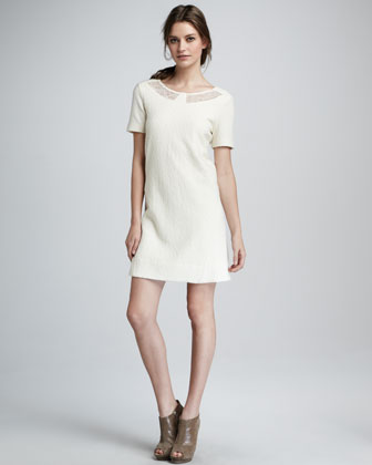 Hawthorn Lace-Inset Dress