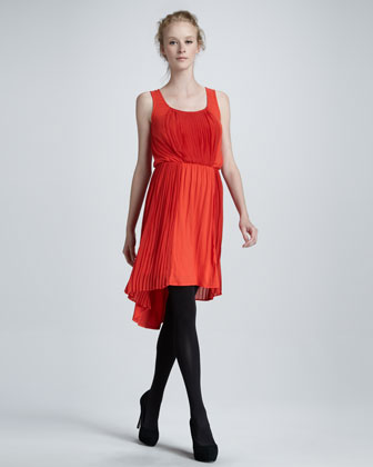Bella Slub High-Low Dress