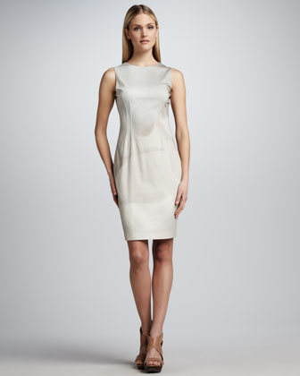 Emory Sleeveless Shaded Sheath Dress
