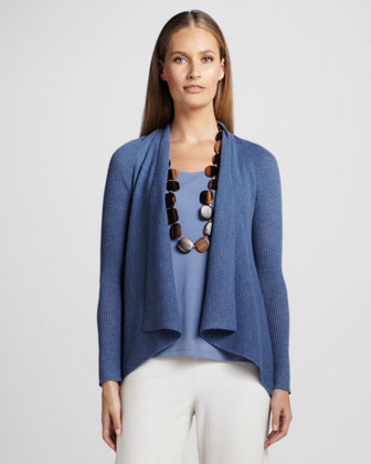 Shawl-Collar Cardigan, Women's