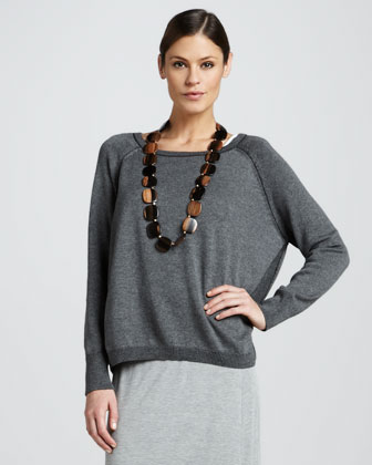 Organic Cropped Boxy Top
