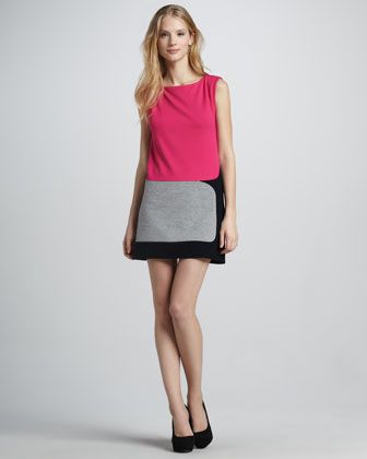 Judo Colorblock Dress