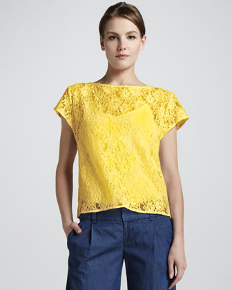 Gloriane Loose Lace Top