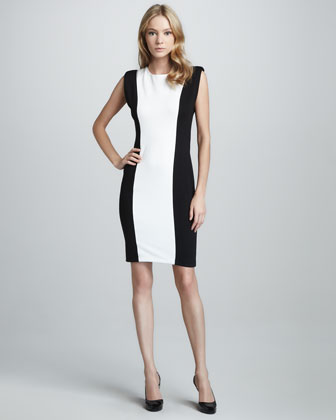 Alberta Colorblock Dress