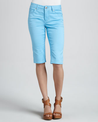 Julia Short Capri Jeans