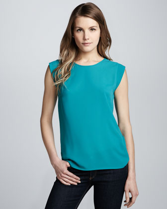 Polly Plains Relaxed Top