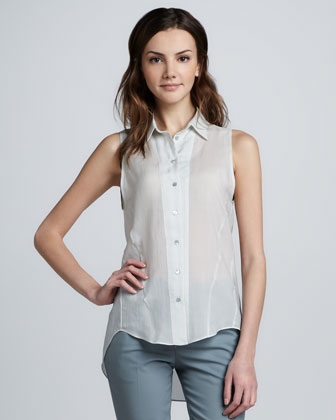 Buzzy Sleeveless Blouse