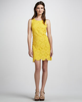 Sleeveless Crocheted Dress