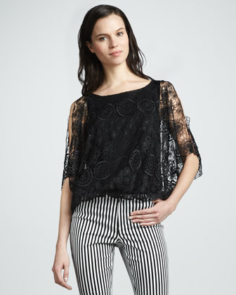 Cheryl Sheer Lace Top