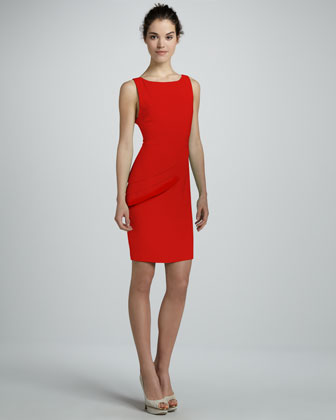 Spelling Side-Peplum Dress