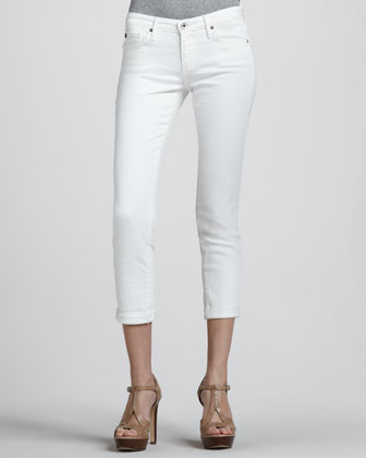 Stilt Cropped Denim Pants