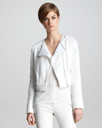 Annette Tweed Biker Jacket