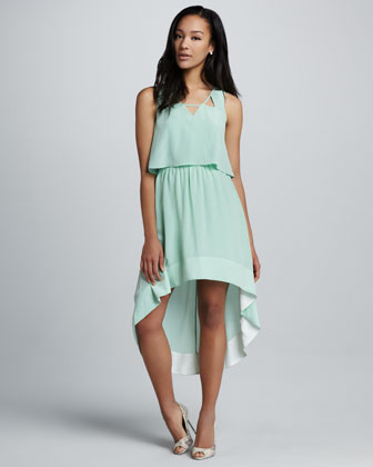 Wendy High-Low Dress