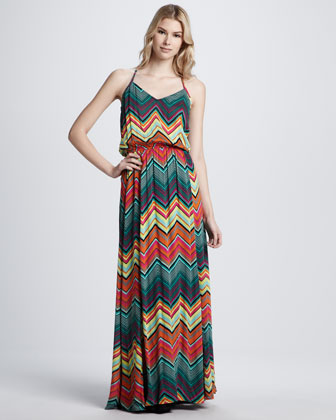 Sunstream Printed Halter Dress