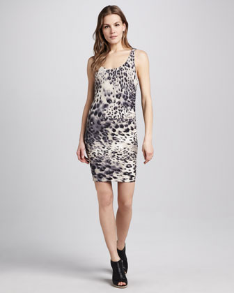 Erin Animal-Print Dress